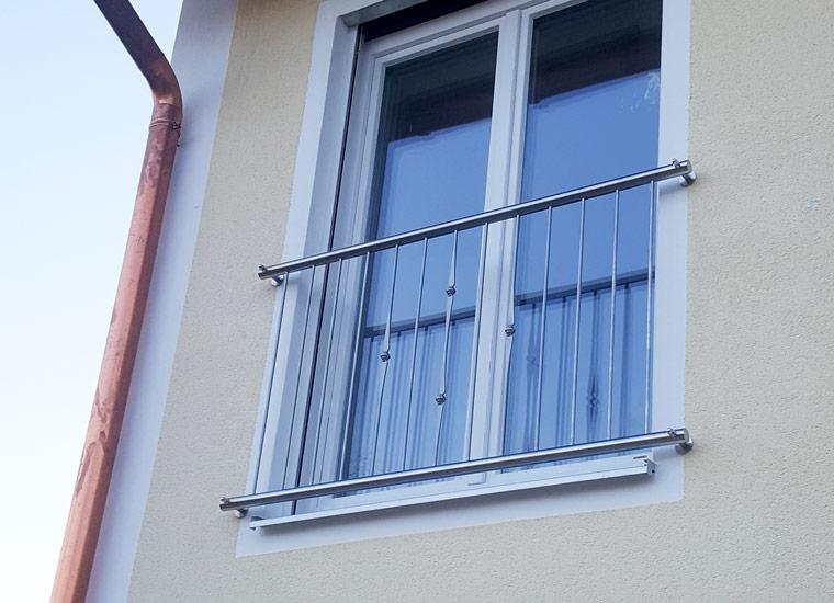 Referenz Geländer, Französisches Gitter