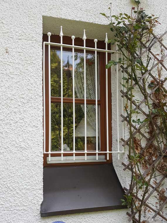 Referenz Fenstergitter