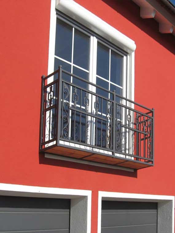Referenz Balkon- und Treppenkonstruktion, Geländer
