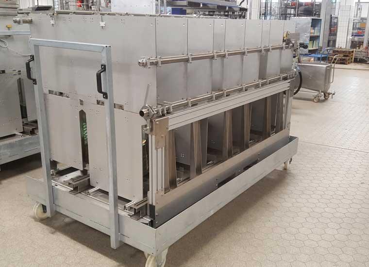 Referenz Industriebau, Rollwagen