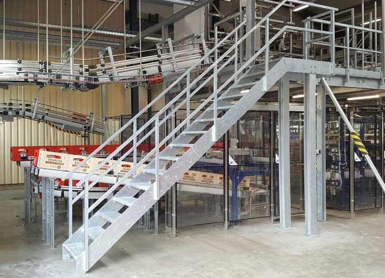 Stahl- und Metallbau, Referenz Industriebau