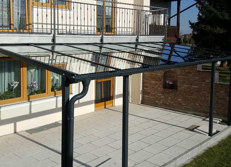Stahl- und Metallbau, Referenz Überdachungen